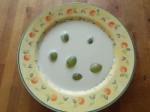 Ajo blanco con uvas