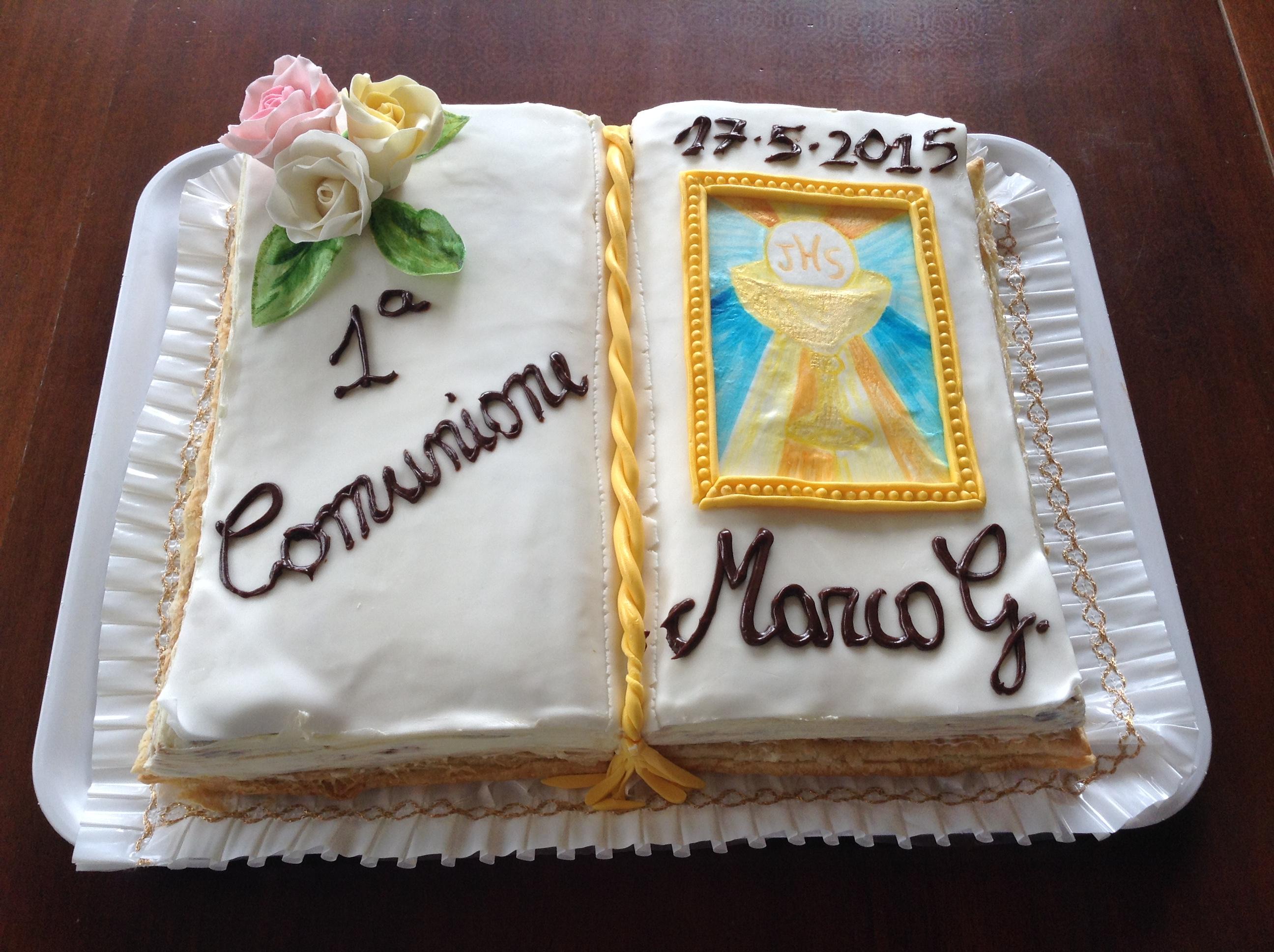 Eccezionale torta Prima Comunione | tortestorte cakes OA19